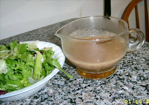 Pecan-Garlic Salad Dressing