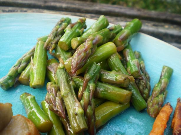 Asparagus Salad With Honey Poppy Seed Vinaigrette