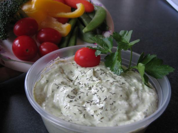Dill Dip for Weight Watchers