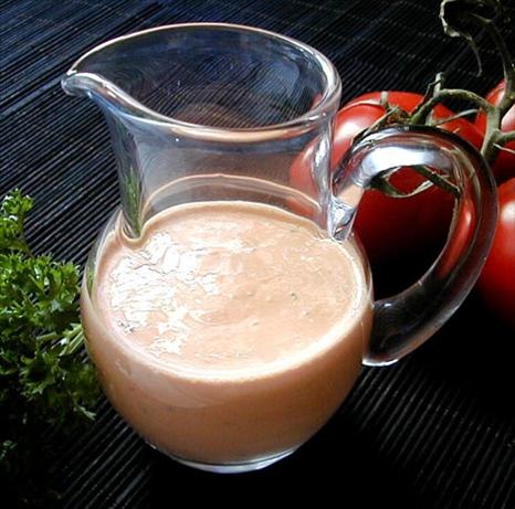 Smoked Tomato Salad Dressing