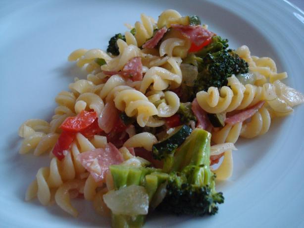 Italian Salami Pasta Salad