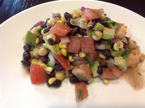 Southwestern Black Bean & Chickpea Salad - Ww Simply Filling