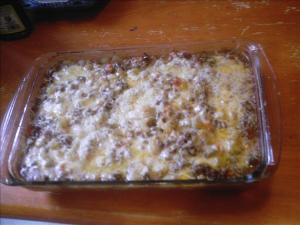 "Hamburger ""Comfort Food"" Casserole"