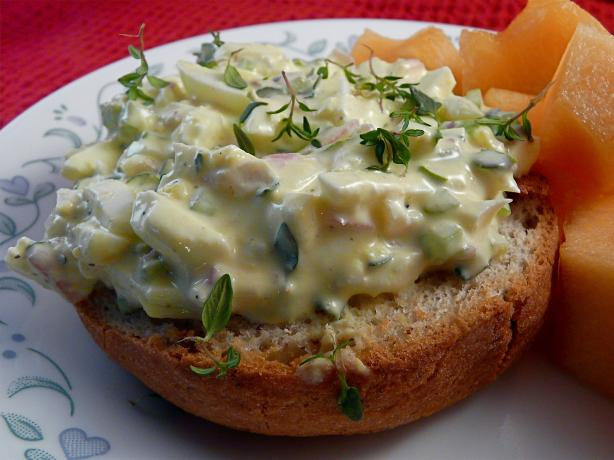 Healthy Egg Salad With Fresh Herbs