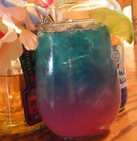 Blue Cactus Margaritas