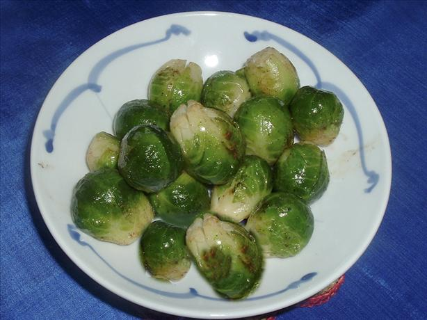 Brussels Sprouts In Browned Butter