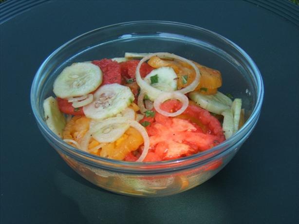 Kachoomber {refreshing Tomato Salad}