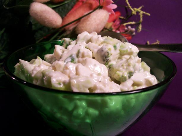 Only Veggies Broccoli Cauliflower Salad