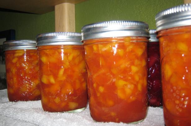 Peach Plum Jam