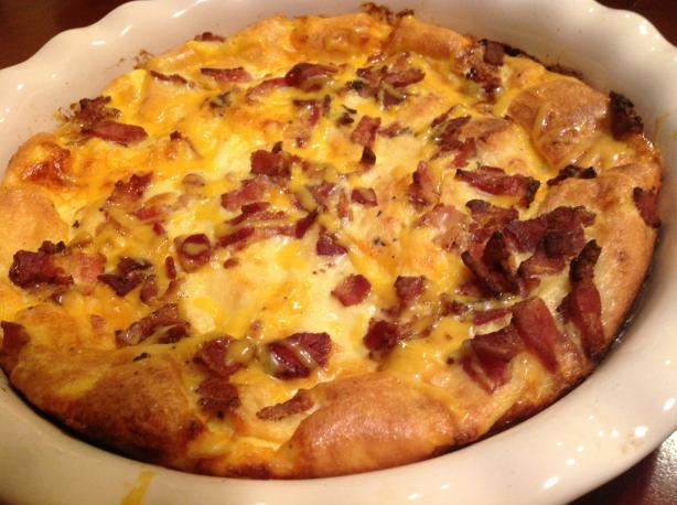 Christmas Breakfast Bacon Casserole