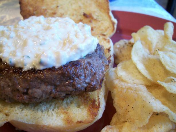 Blue Cheese & Horseradish Hamburger Sauce