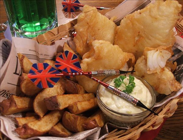 Beer-Battered Fish With Tartar Sauce