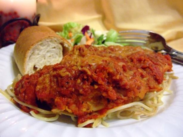 Kittencal's Chicken Parmesan (Low-Fat and Delicious!)