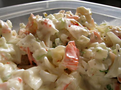 Italian Crab Salad, Spread or Dip