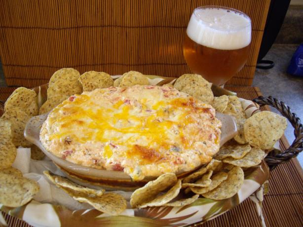 """5 Things"" Hot Mexican Green Chile Dip"