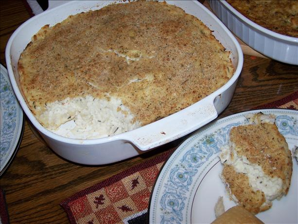 Make Ahead Mashed Potato Casserole