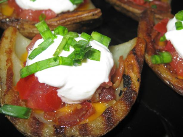 Paula Deen's Grilled Potato Skins