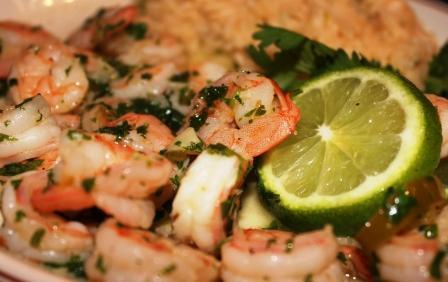 Corona Gambas Al Ajillo (Garlic Shrimp)
