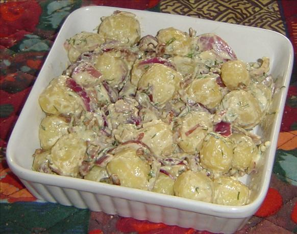 Bacon and Scallion Potato Salad