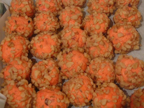 Make-Ahead Mini Cheese-Bacon Balls