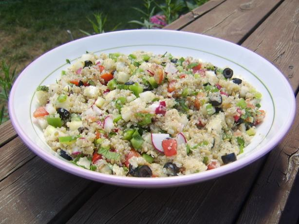 Quinoa and Vegetable Tabouli Salad