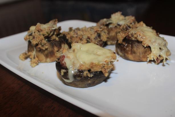 Bacon Stuffed Mushrooms