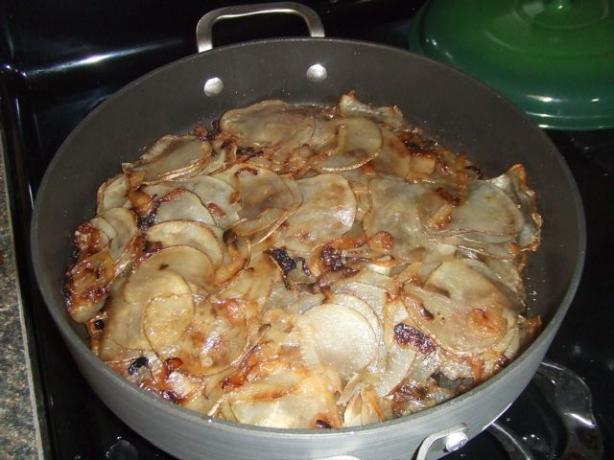 Onion and Potato casserole