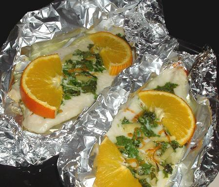 Grilled Orange-Ginger Tilapia