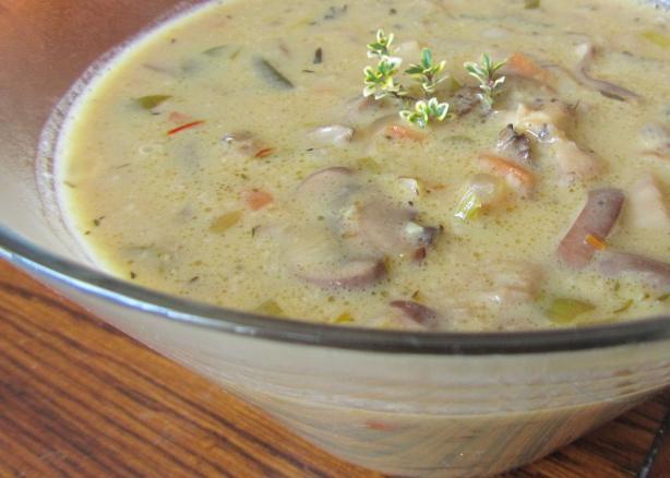 Wild About Creamy Wild Mushroom Soup