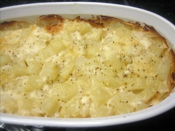 Baked Creamy Potato Casserole
