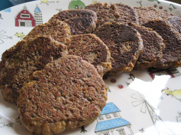 Vegan/Vegetarian Sausage Patties