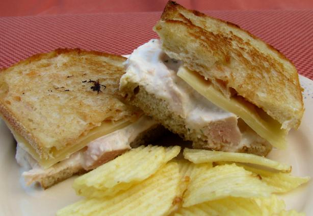 Paula Deen's Almond Chicken Salad Melt