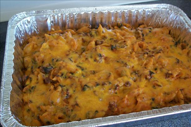 Creamy Beef and Pasta Casserole With Spinach