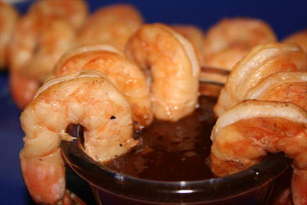 Thai Shrimp Kabobs With Hot Ginger Sauce