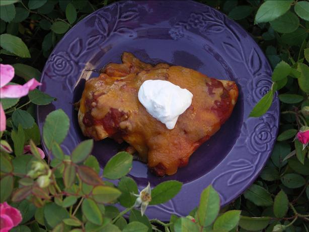 Easy Taco Salsa Chicken Breasts