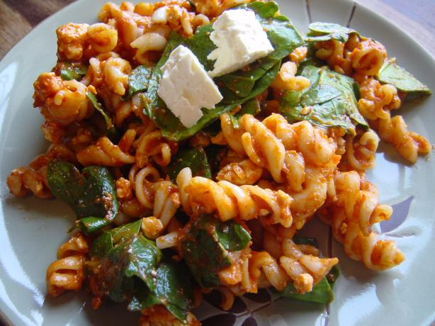 Spinach & Feta Pasta