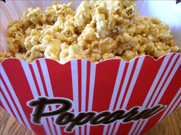 Super Soft Caramel Popcorn