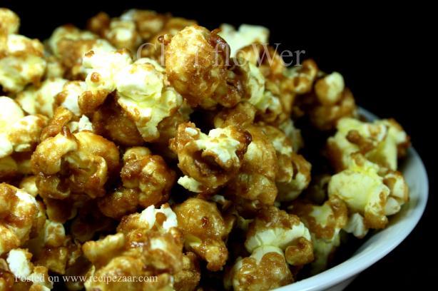 Caramel Popcorn - No Bake - Yummo!