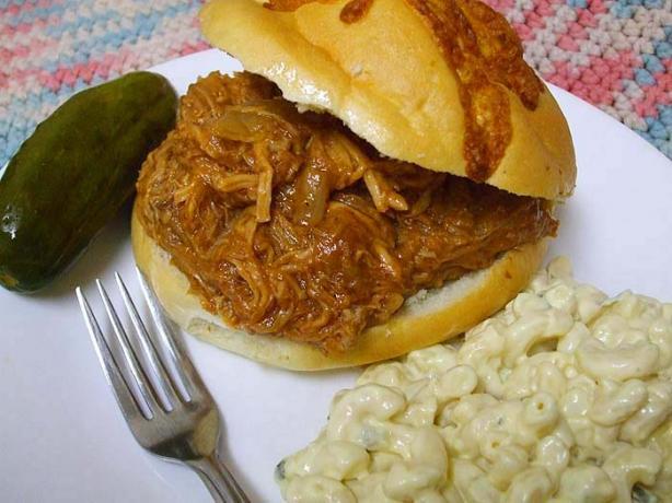 Crock Pot Barbecue Pulled Pork