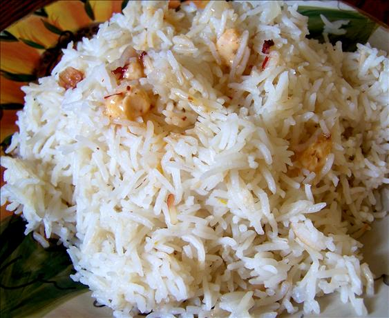 Smoky Orange Rice - Rice Cooker