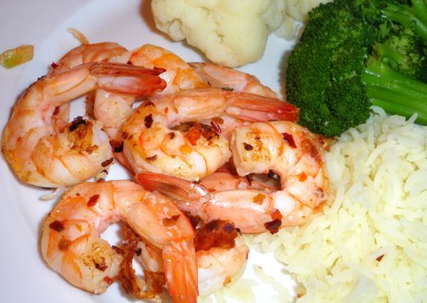 Prawns / Shrimp in Garlic Sauce
