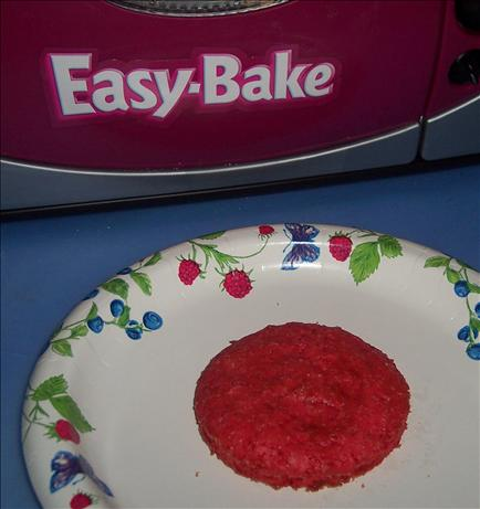 Easy Bake Oven Barbie's Pretty Pink Cake