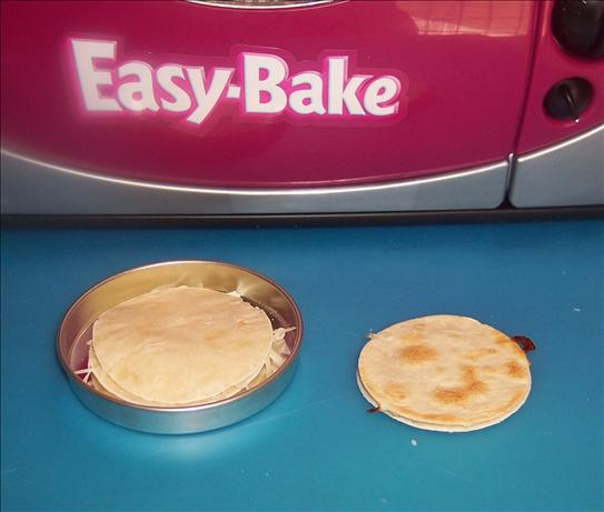 Easy Bake Oven Quesadilla