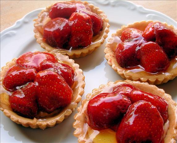 Mini Wild Strawberry Tarts - Barquettes De Fraises Des Bois