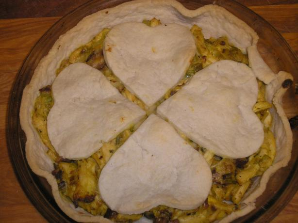 Chicken, Leek and Mustard Pie