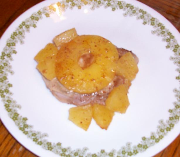 Hawaiian Pork Chops - Weight Watchers