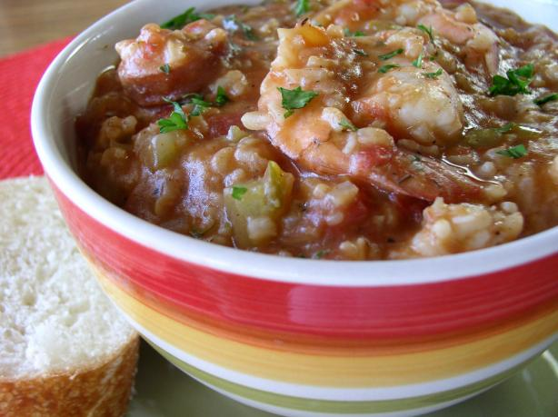 Shrimp & Andouille Sausage Jambalaya