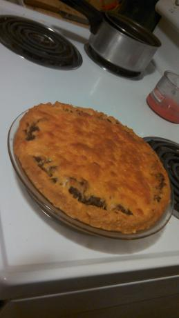 Yummy Taco Potato Pie!