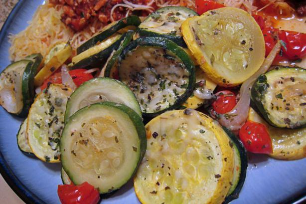 Scalloped Zucchini & Yellow Squash