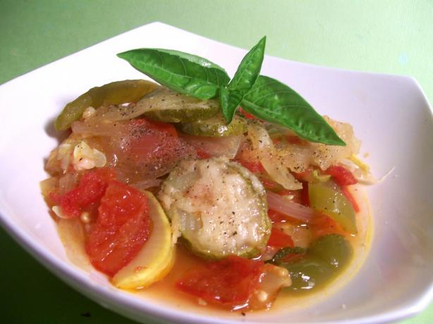 Slow Cooker Zucchini Casserole